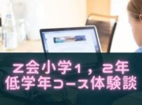Z会小学生低学年、1,2年コースの口コミ!教材や料金特徴まとめ!